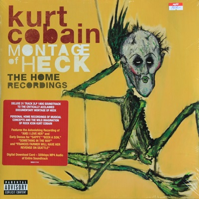 Kurt Cobain - Montage Of Heck The Home Recordings 2Lp N.