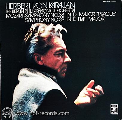 Herbert Von Karajan - Mozart : Symphony No.38 39 1lp