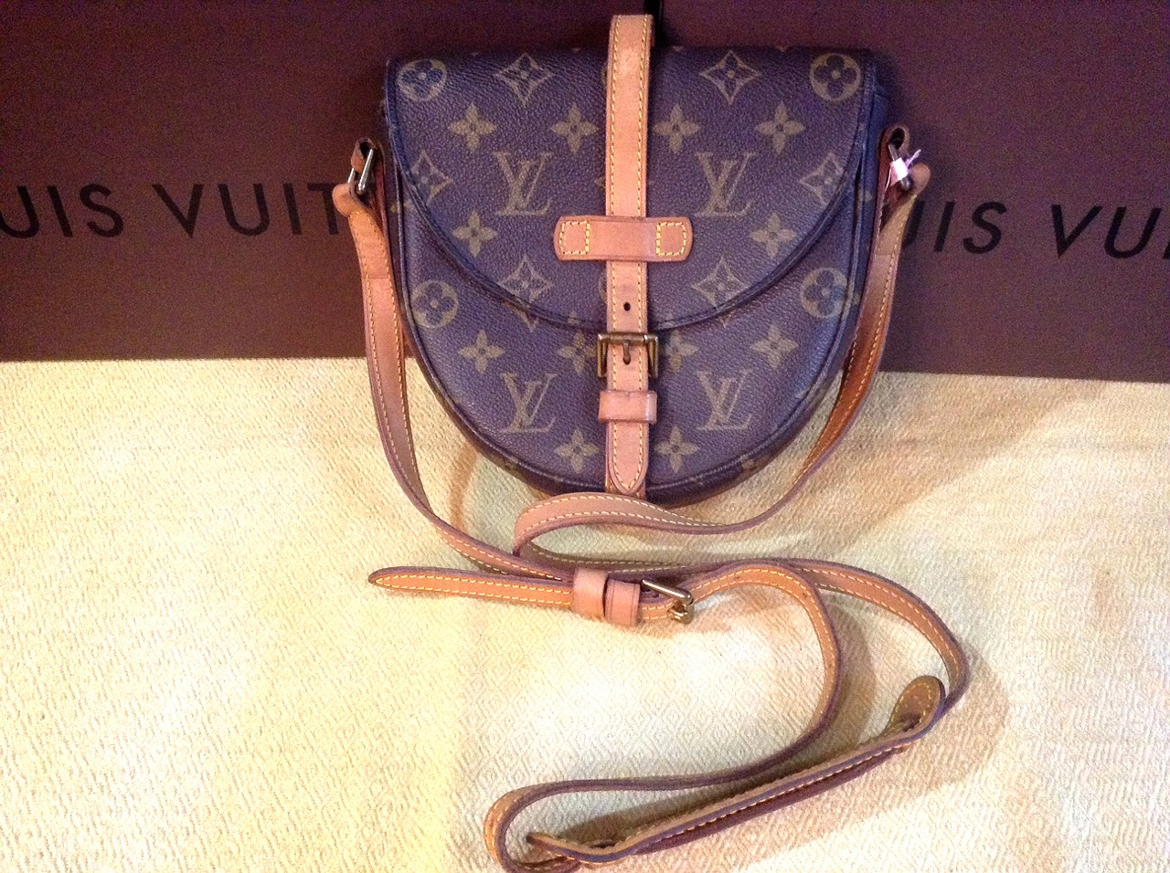 Used LV Chantilly Crossbody