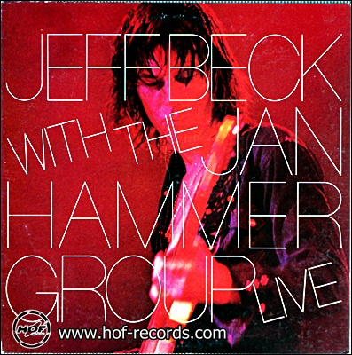 Jeff Beck - With The Jan Hammer Group Live 1977 1lp