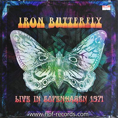 Iron Butterfly - Live In Copenhagen 1971 2lp N.
