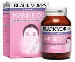 Blackmores Radiance Marine Q10 โปรตีนสกัดจากปลาทะเลผสมโคเอนไซม์ คิวเทน 30 แคปซูล