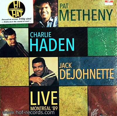 Pat Metheny , Charlie Haden , Jack Dejohnette - Live Montreal '89 1Lp N.