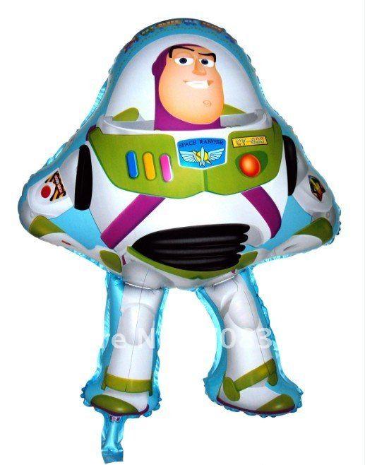 Buzz Lightyear Toys Story Shape Foil Balloon - บอลลูนลายการ์ตูน บัสไลท์เยียร์ Toys Story/ Item No.TL-A031