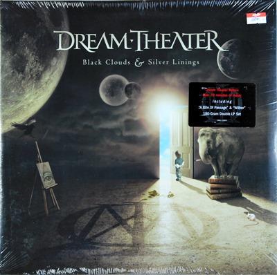 Dream Theater - Black Clouds & Silver Linings 2Lp 2009 N.