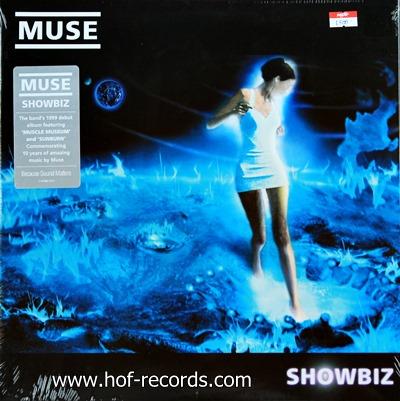 Muse - Showbiz 2lp 1999 N.