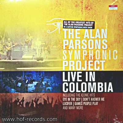 The Alan Parsons Project - Symphonic Live In Colombia 2Lp N.