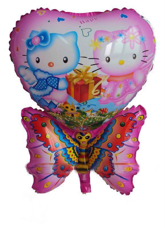 ลายการ์ตูน Hello Kitty และผีเสื้อ (แพ็ค10ใบ) / Item No. TL-A037
