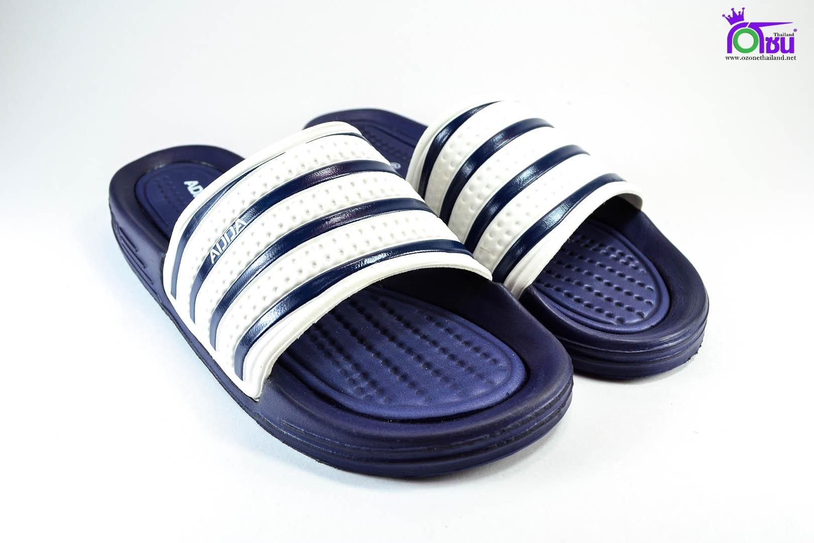 รองเท้าแตะ ADDA 3T15 กรม-ขาว