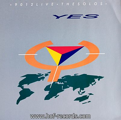 Yes - 9012 Live The Solos 1985 1lp