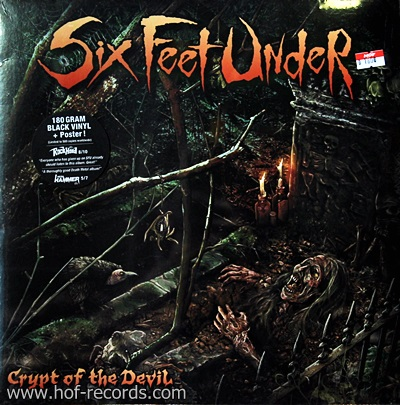 Six Feet Under - Crypt Of The Devil 1Lp N.