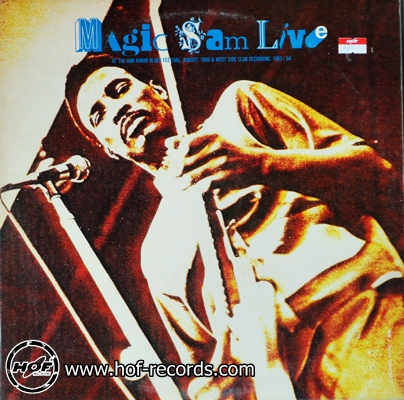 magic sam - live 2lp