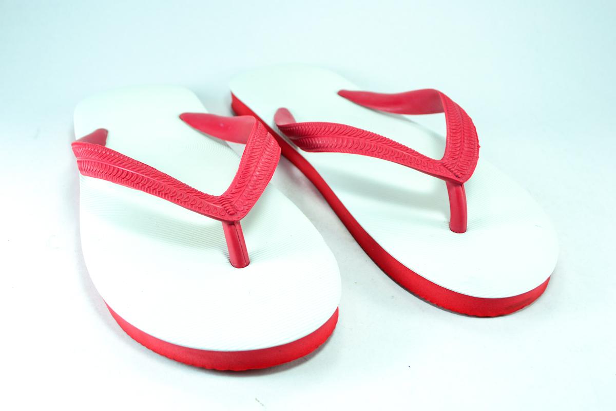 รองเท้าแตะช้างดาว เบอร์ 9,9.5,10,10.5,11 สีแดงขาว สำเนา