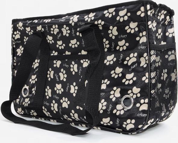 กระเป๋าน้องหมาเท้าหมาดำ L