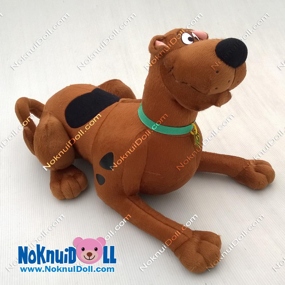 ตุ๊กตา สกูปี้ดู Scoopy Doo ท่าหมอบ