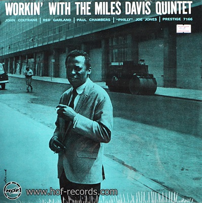 Miles Davis - Workin' With The Miles Davis Quintet 1lp NEW