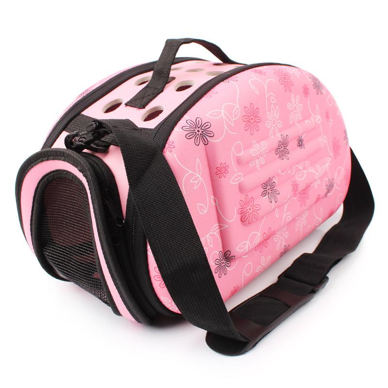 กระเป๋าน้องหมาน่ารักๆลายเท้าหมาชมพูไซด์ s