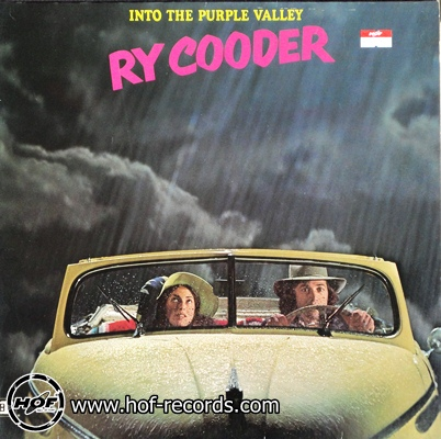 ry cooder - into the purple valley 1lp