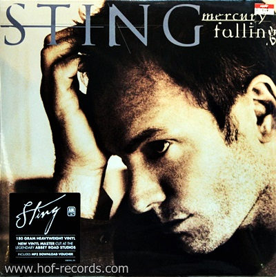 Sting - Mercury Falling 1Lp N.