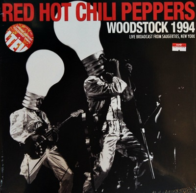 Red Hot Chili Peppers - Woodstock 1994 2LP N.