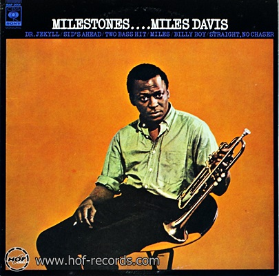 Miles Davis - Milestones 1lp