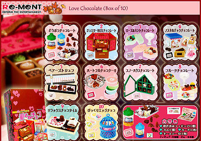 re-ment Chocolate full set of 10