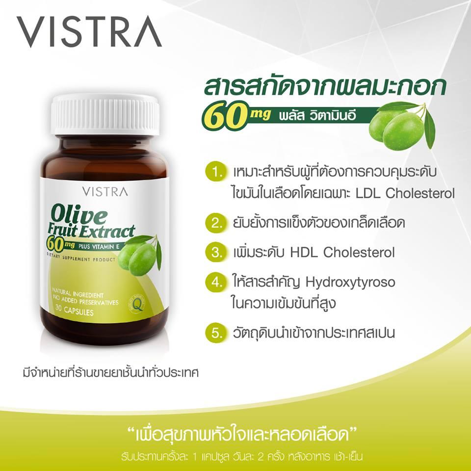 Vistra Olive Fruit Info