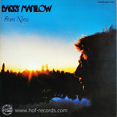 Barry Manilow - Even Now 1978 1lp