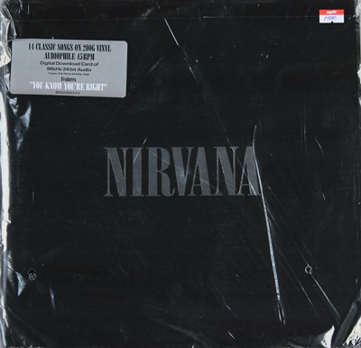 NIRVANA - 14 CLASSIC SONG ON 200G VINYL AUDIOPHILE 45RPM 2LP N.