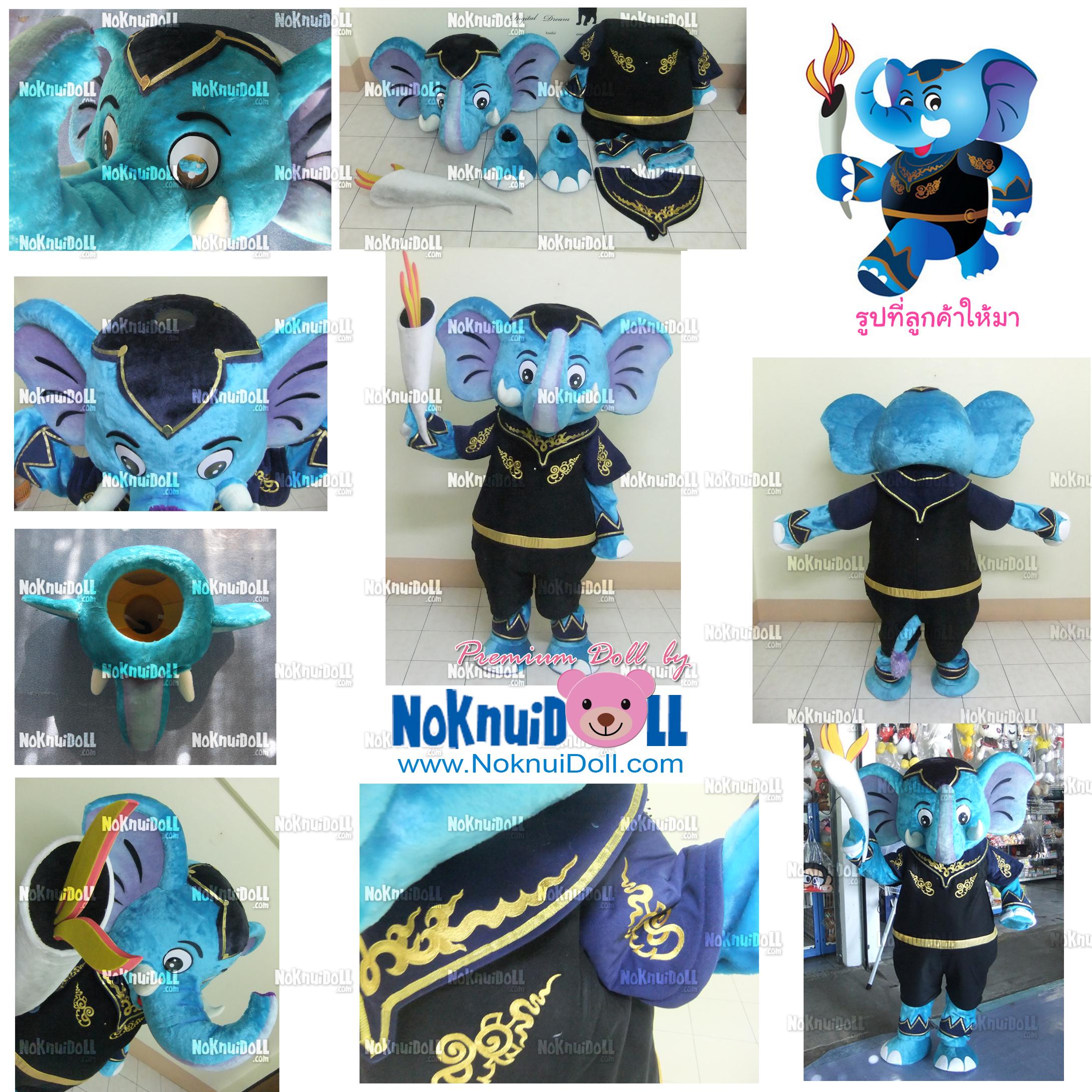 ตุ๊กตาสวมใส่คน ช้าง พิษณุโลก, ช้างนักรบ