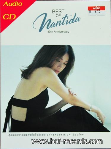 CD นันทิดา แก้วบัวสาย - best of Nantida 40th Aniversary