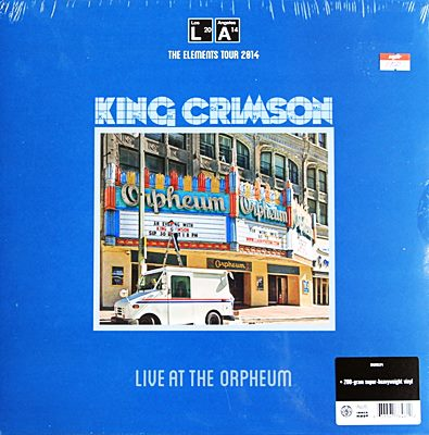 King Crimson - Live At The Orpheum 1lp N.