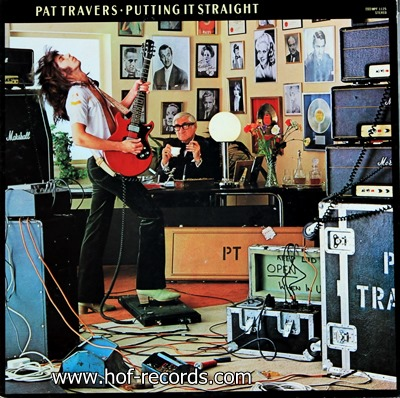 Pat Travers - Putting It Straight 1977