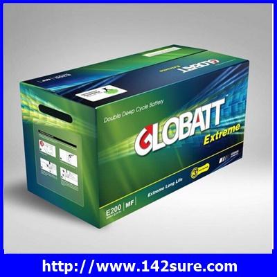SBD039: GLOBATT EXTREME PLUS แบตเตอรี่สำหรับเก็บพลังงานแสงอาทิตย์ ชนิด Deep Cycle Extreme จ่ายกระแสไฟ (CCA) GLOBATT EXTREME PLUS E2250 200AH