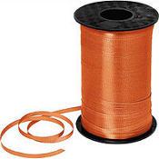 ริบบิ้นม้วนใหญ่ สีส้ม สำหรับผูกลูกโป่ง ยาว 350 เมตร - Orange Curling Ribbon