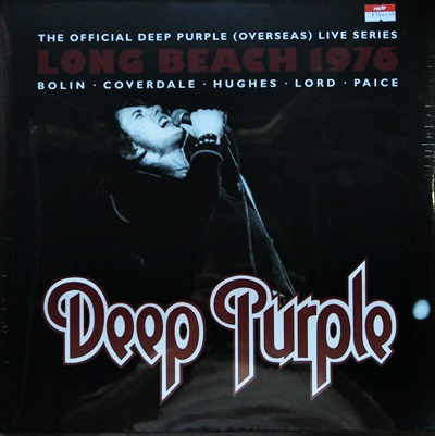 Deep Purple - Long Beach 1976 3Lp N.