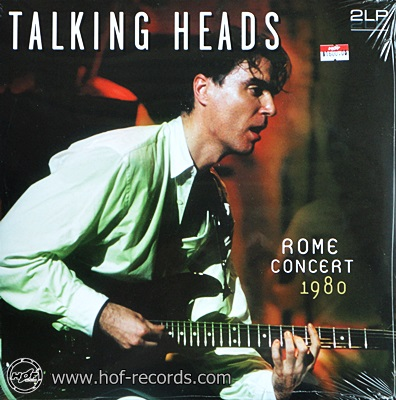 Talking Heads - Rome Concert 1980 2lp NEW