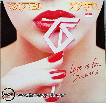 Twisted Sister - Love is for Suckers 1 LP