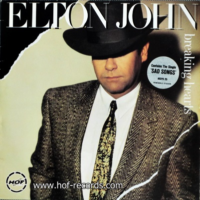 Elton John - Breaking Hearts 1984 1lp