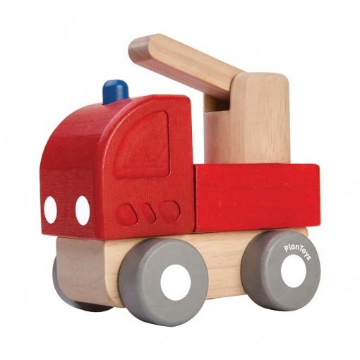 ของเล่นไม้ ของเล่นเด็ก ของเล่นเสริมพัฒนาการ Mini Fire Engine รถดับเพลิงมินิ (ส่งฟรี)