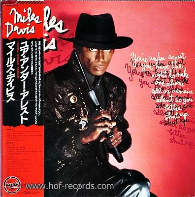Miles Davis - You're Under Arrest 1lp