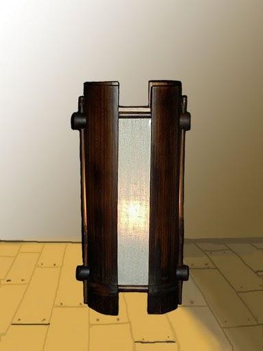 โคมไฟไม้ไผ่ Bamboo Table Lamp BL-1004