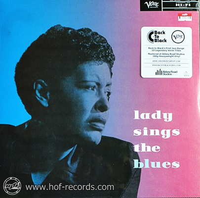 Billie Holiday - Lady Sings The Blues 1lp EU NEW