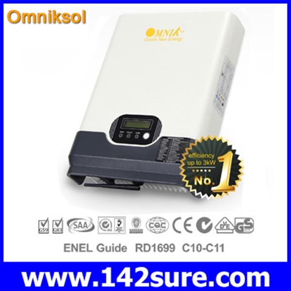 INV015 อินเวอร์เตอร์ โซล่าเซลล์ Solar Inverter Omniksol-1.5k-TL PV-Generate Power 1750W เทคโนโลยีจากประเทศเยอรมนี(สินค้า Pre-Order)