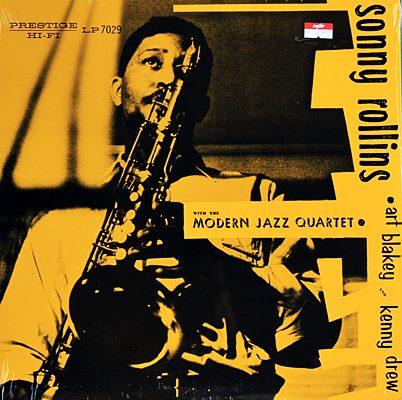 Sonny Rollins - With The Modern Jazz Quartet 1lp NEW