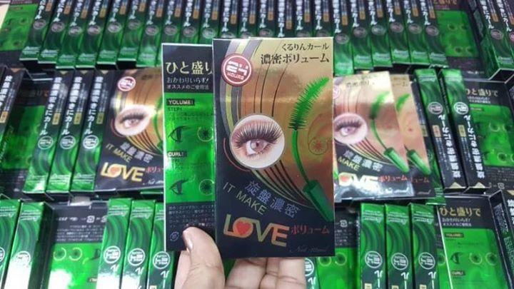 B.Q. Cover Perfect Eyelash Mascara บีคิว คอฟเวอร์ อายแลช มาสคาร่าเขียว