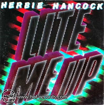 Herbie Hancock - lite me up 1lp