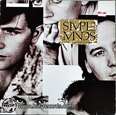 Simple Minds - once upon a time 1 LP