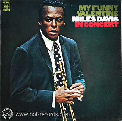 Miles Davis - My Funny Valentine In Concert 1lp