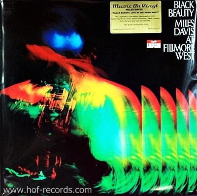 Miles Davis - Black Beauty , Live At Fillmore West 2Lp N.